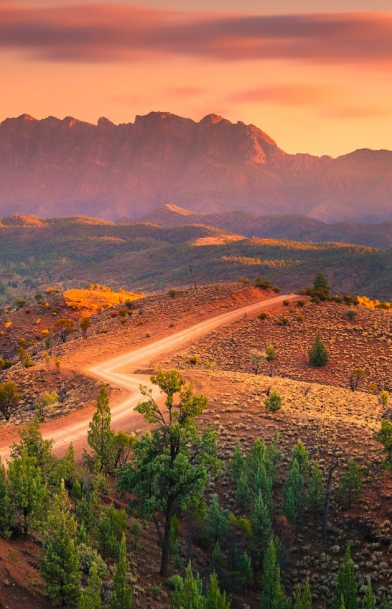 Bunyeroo Valley, Flinders Ranges, SA © Ben Goode