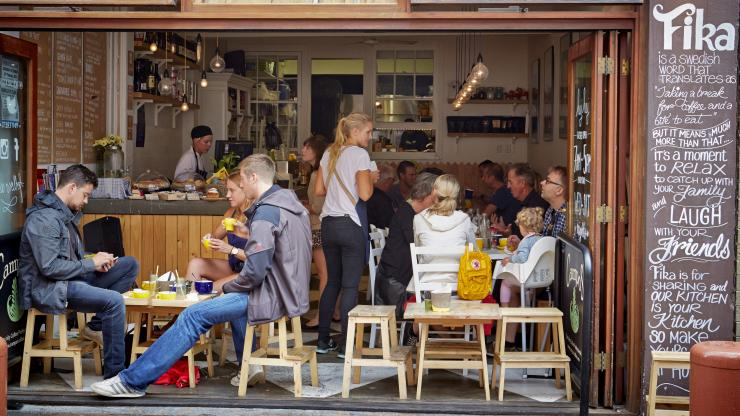 Fika Swedish Kitchen, Manly, NSW. © Lawrence Furzey, Destination New South Wales