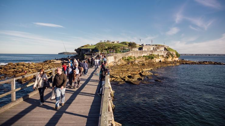 Bare Island, La Perouse, Sydney, NSW © Daniel Boud, Destination New South Wales