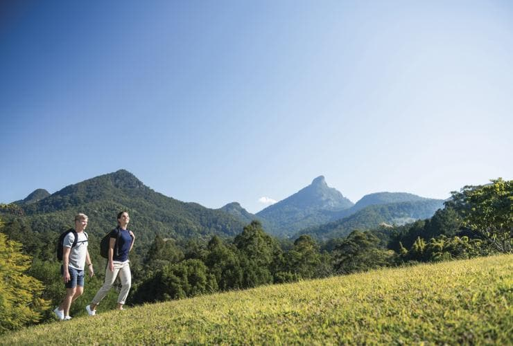 Wollumbin-Mt Warning, Byron Bay hinterland, NSW © Destination NSW