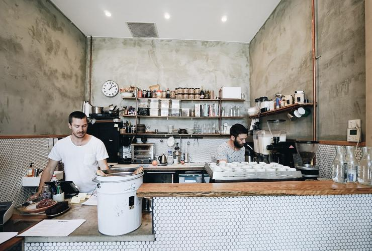 Barrio Collective Coffee, Braddon, ACT © HeyGents
