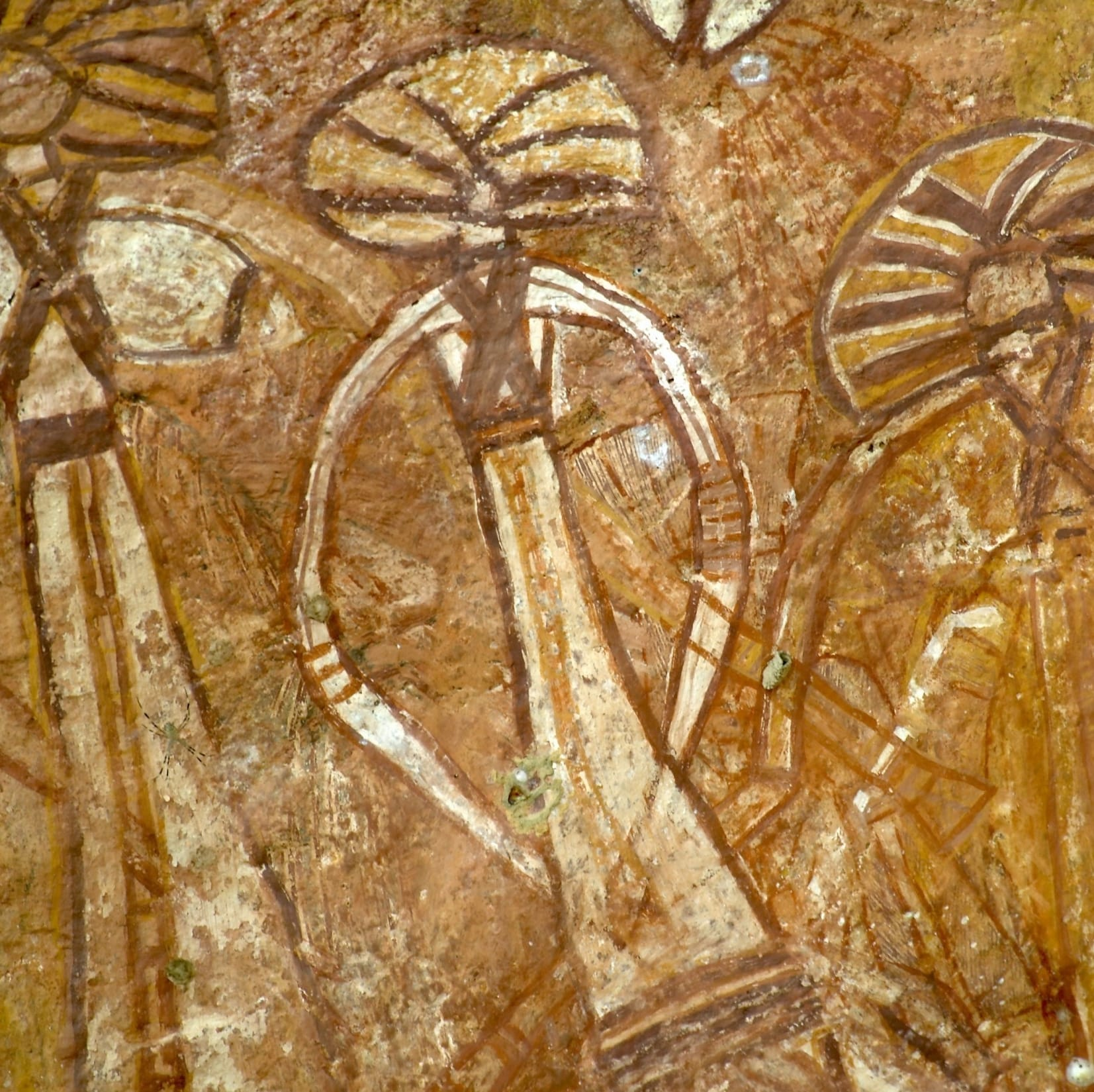 Aboriginal rock art at Nourlangie Rock in Kakadu National Park © Tourism NT/Peter Eve