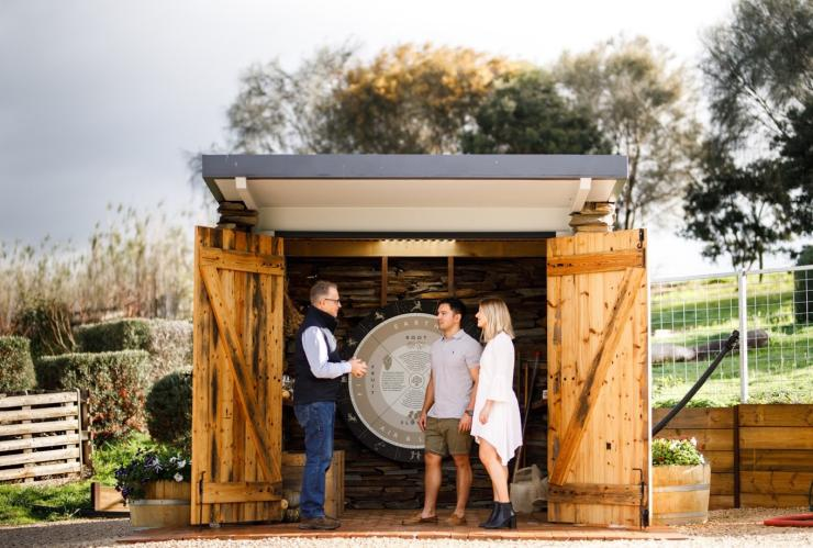 Gemtree Wines Biodynamic Hut, McLaren Vale, SA © Gemtree Wines
