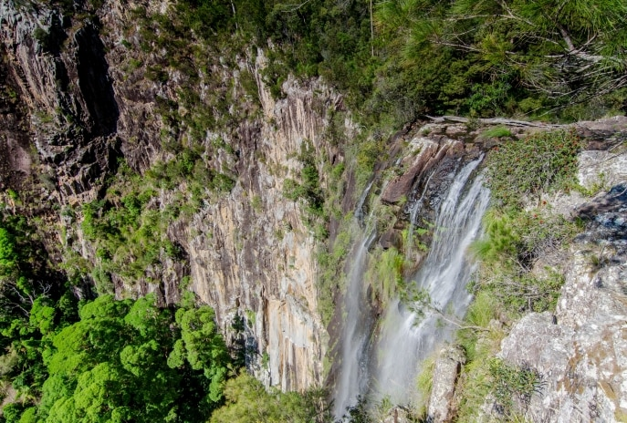 Minyon Falls, Nightcap National Park, NSW © John Spencer, Office of Environment and Heritage