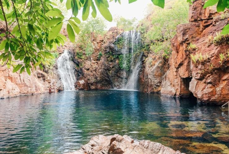 Florence Falls waterfall and swimming hole in Litchfield National Park © Tourism NT/Lucy Ewing