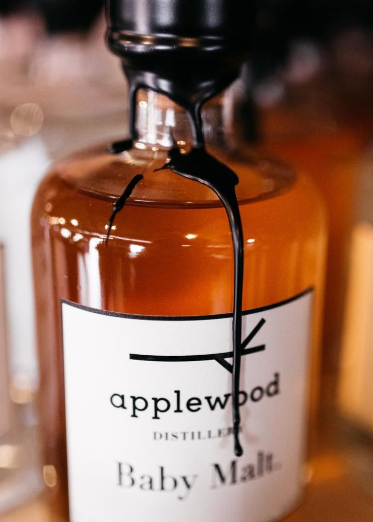 Bottled gin from Applewood Distillery in Adelaide Hills © Erik Rosenberg
