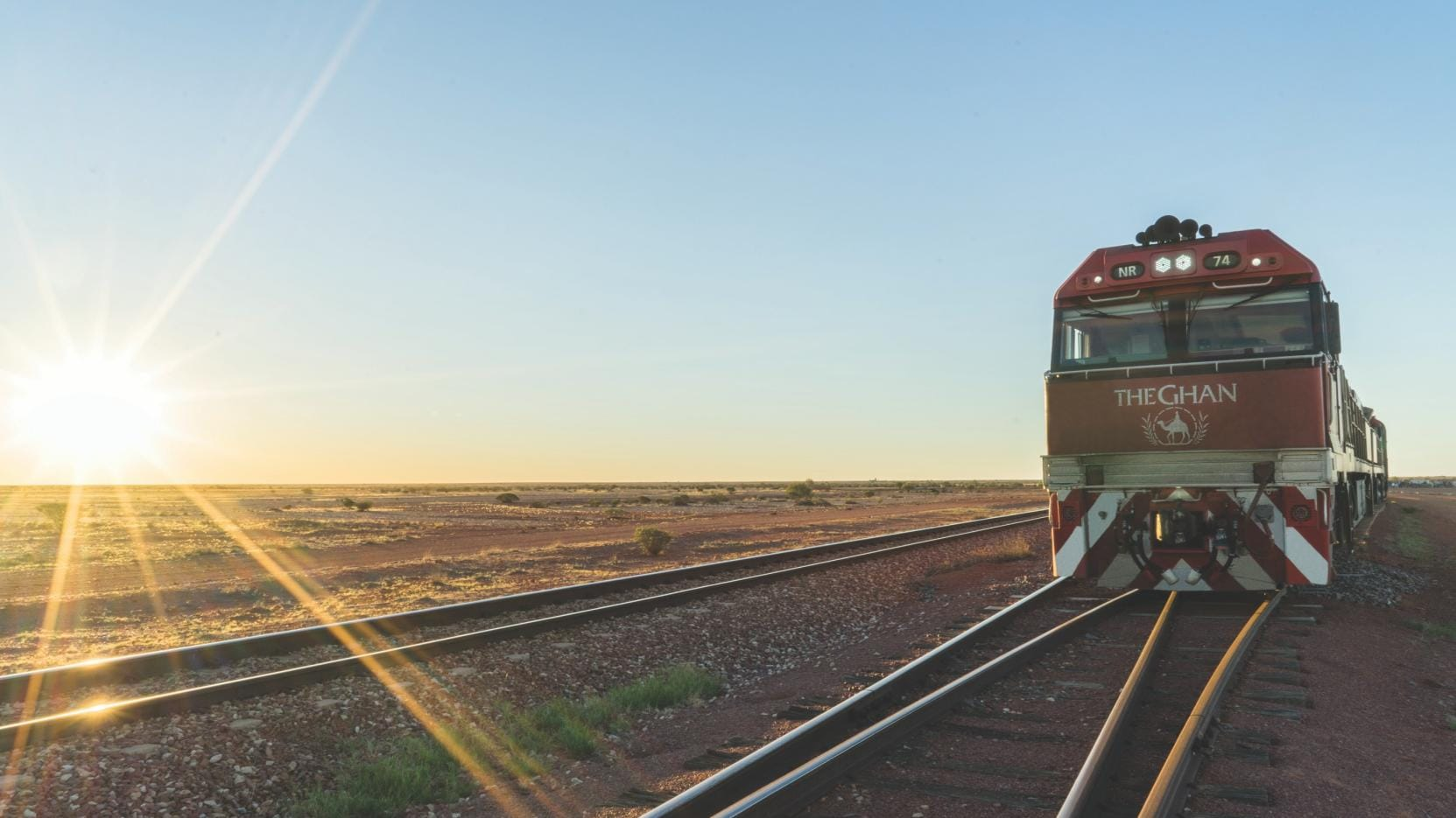 The Ghan, Adelaide, SA © Great Southern Rail
