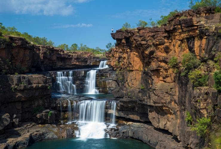 Waterfall in Mitchell River National Park © Tourism Western Australia