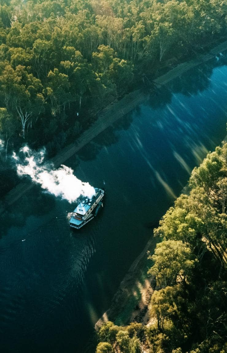 PS Emmylou, Echuca-Moama, NSW and VIC © Destination NSW