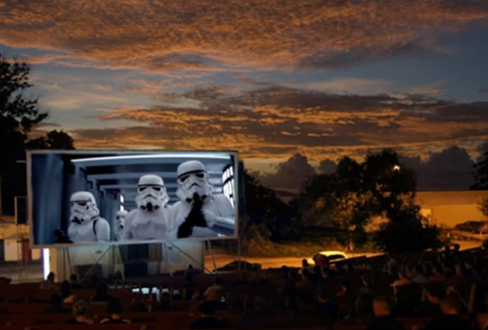 Outdoor Cinema on Christmas Island © Tourism Australia