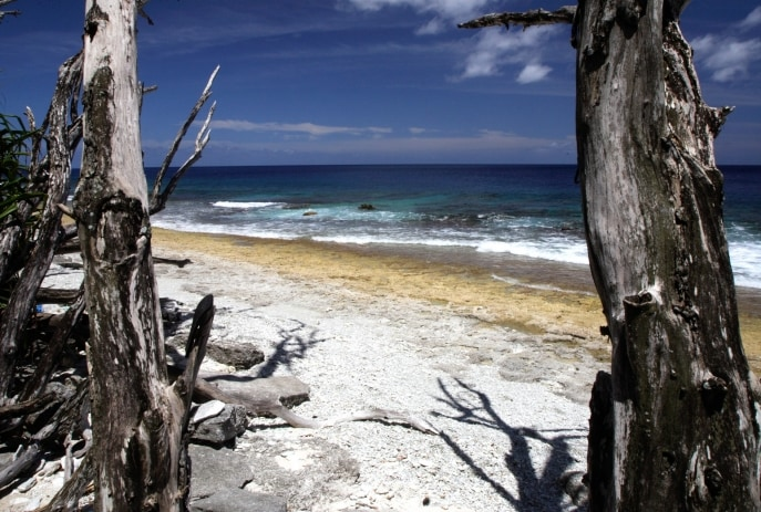 West White Beach, Christmas Island © Erica Harrison, Christmas Island Tourism