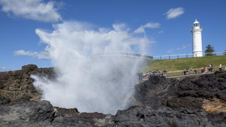 Kiama Blowhole, South Coast, NSW © Murray Vanderveer, Destination NSW
