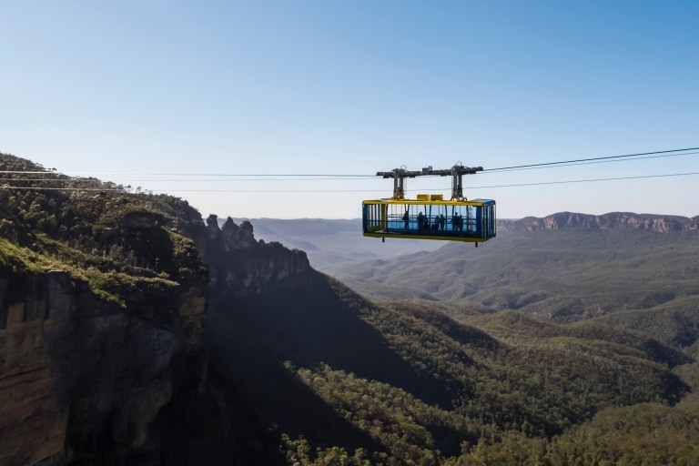 Scenic World, Katoomba, New South Wales © Destination NSW