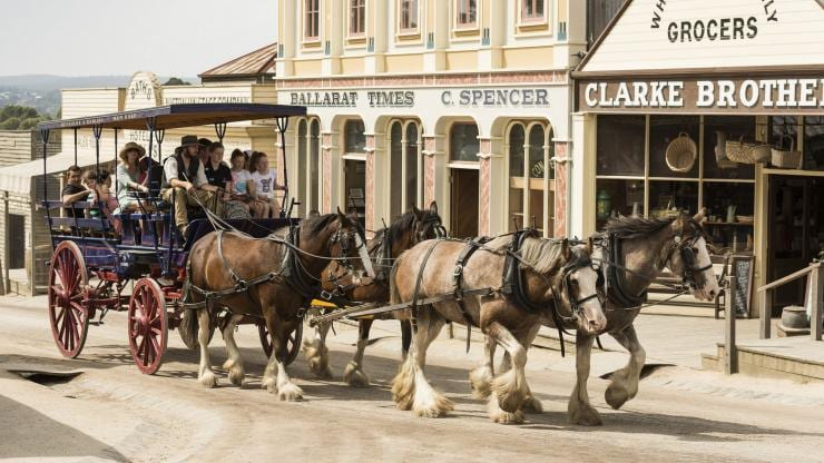 Sovereign Hill, Ballarat, VIC © Sovereign Hill
