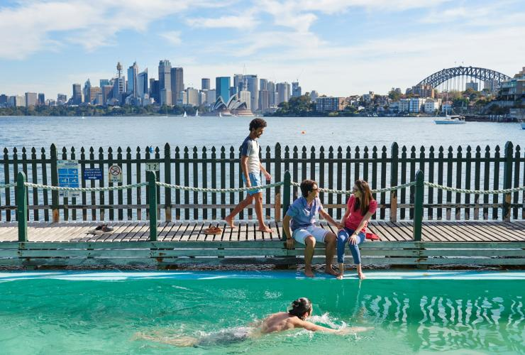 Maccallum Pool, Cremorne Point, Sydney, NSW © Destination NSW