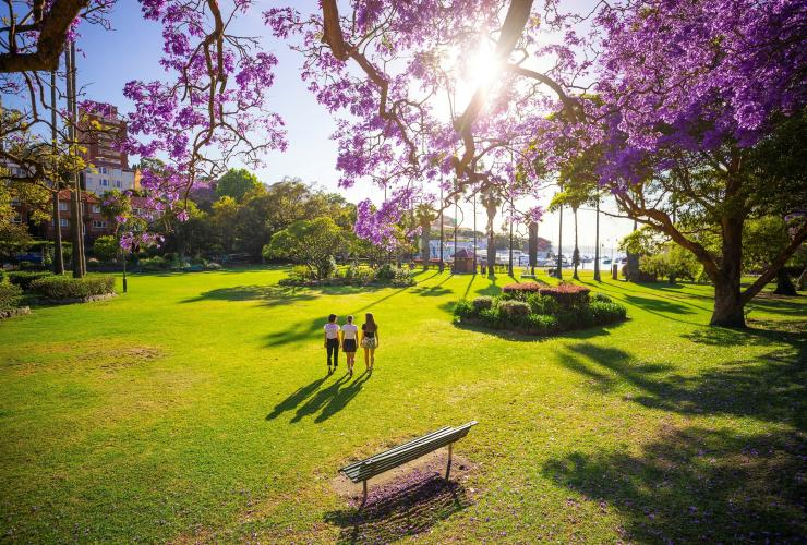 Milson Park, Kirribilli, NSW © Destination NSW