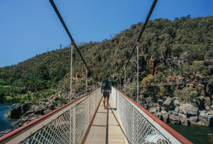 Alexandra Bridge, Cataract Gorge, Launceston, TAS © Jason Charles Hill, Tourism Tasmania