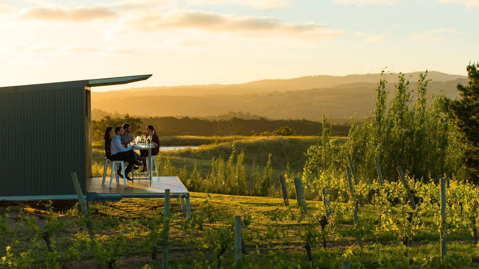 360° Panorama Experience, The Lane Vineyard, Adelaide Hills, SA © Ultimate Winery Experiences Australia