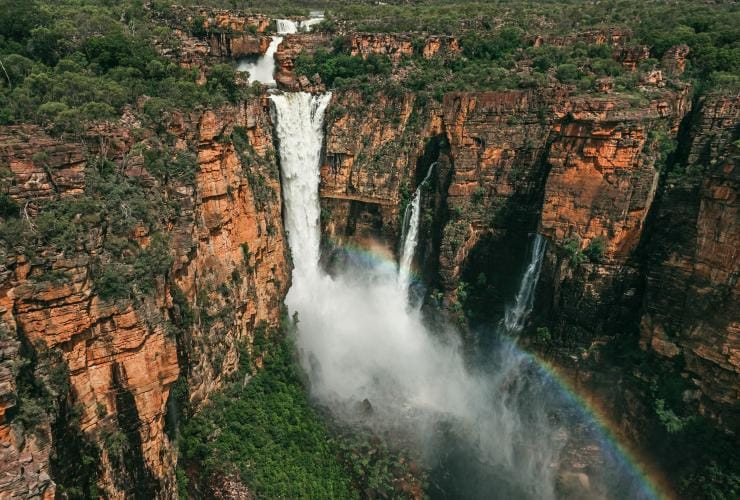 Jim Jim Falls during wet season, Kakadu National Park, NT © Jarrad Seng