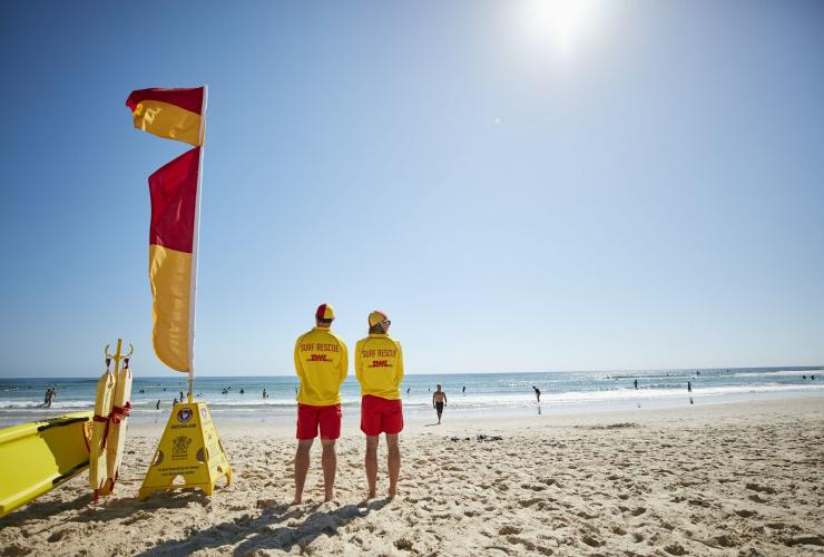 Burleigh Beach, Gold Coast, QLD © Tourism and Events Queensland