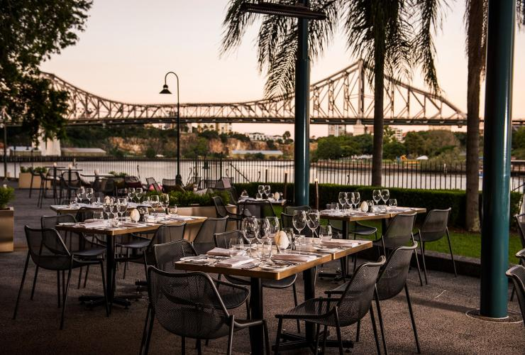 Sunset at Patina restaurant in Brisbane © Brisbane Marketing