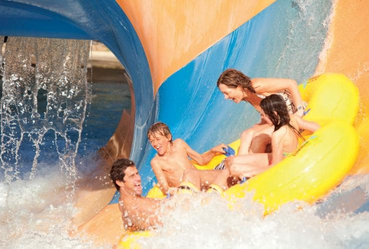 Wet'N'Wild, Gold Coast, QLD © Tourism and Events Queensland