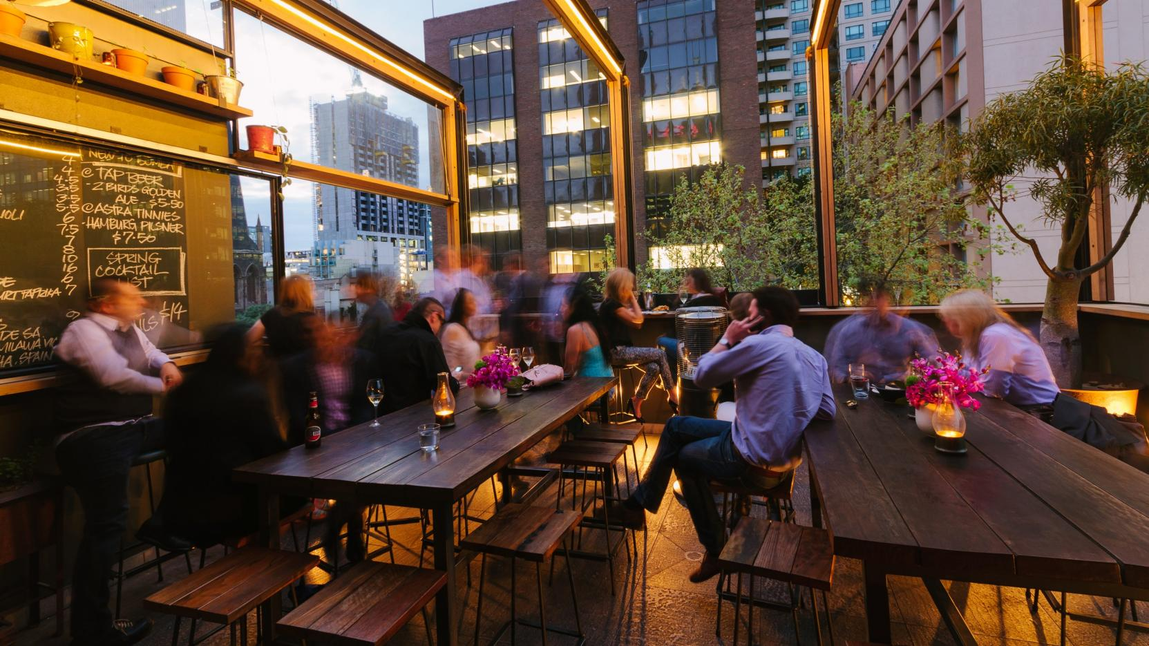 Bomba Tapas Bar and Rooftop, Melbourne, VIC © Roberto Seba