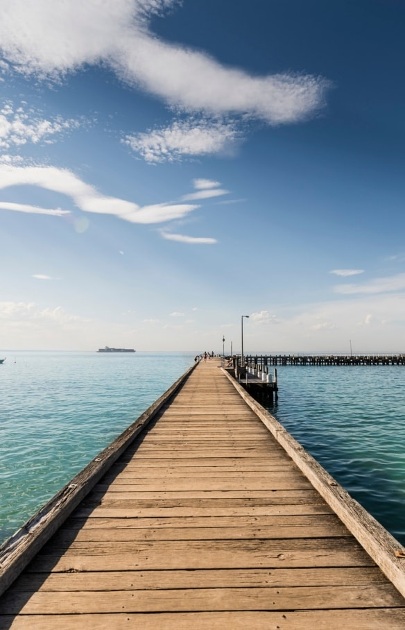 Portsea Pier, Mornington Peninsula, VIC © Mornington Peninsula