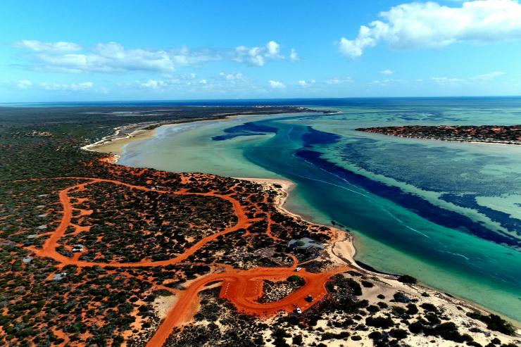Red Bluff, Kalbarri National Park, Coral Coast, WA. © Tourism Western Australia
