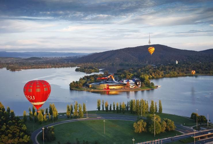 National Museum of Australia, Canberra, ACT © Cultural Attractions of Australia