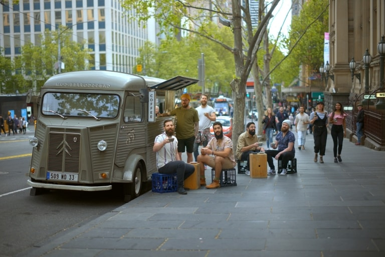 Collings Street, Melbourne, VIC © Tourism Australia