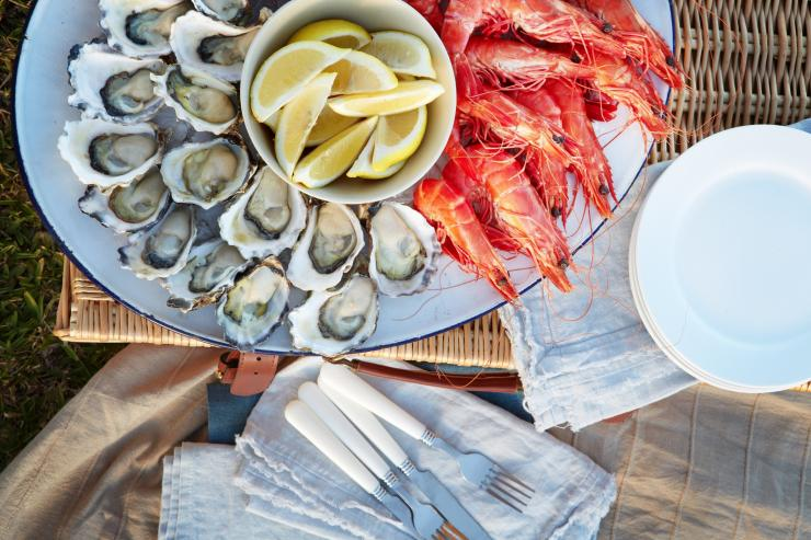 Seafood platter, NSW © Destination NSW