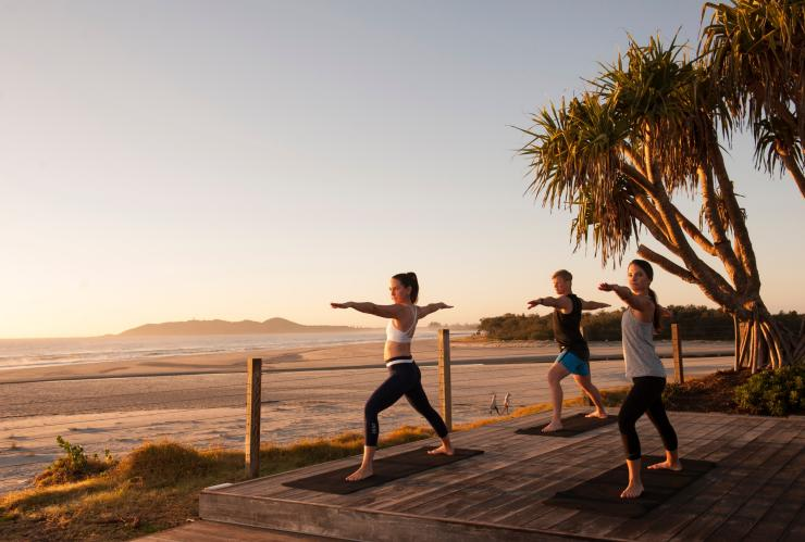 Sunrise Yoga, Elements of Byron Bay, Byron Bay, NSW