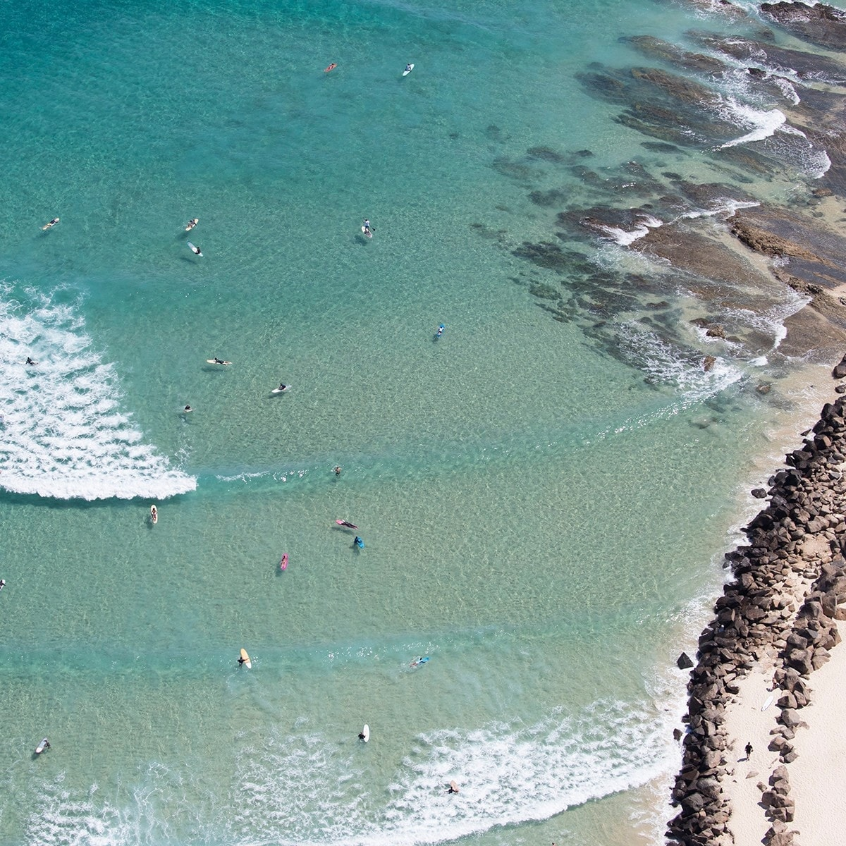Duranbah Beach, Gold Coast, Queensland © Tourism and Events Queensland/Sean Scott