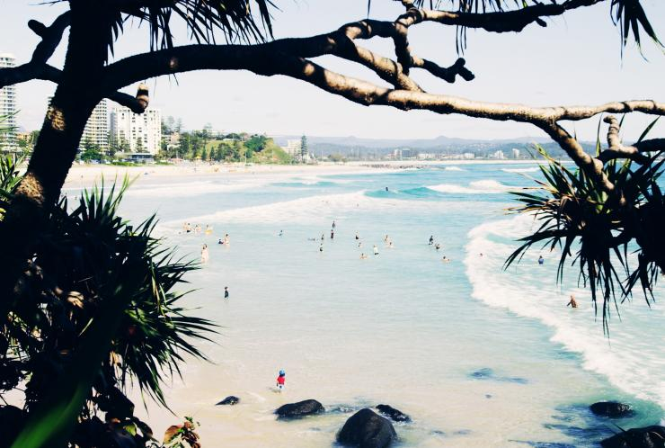 Surfers Paradise beach at the Gold Coast © Destination Gold Coast