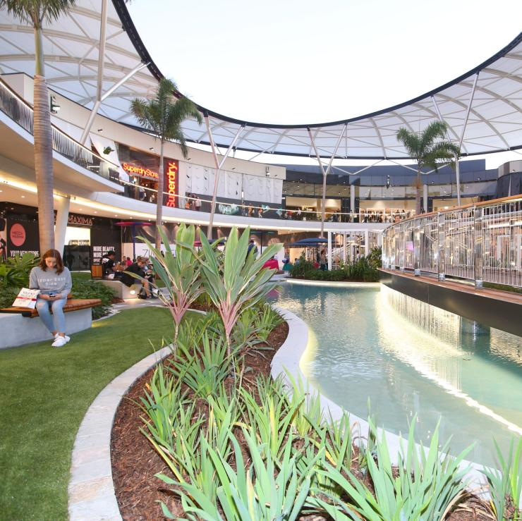 Pacific Fair shopping centre at the Gold Coast © Destination Gold Coast