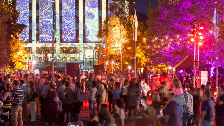 Enlighten Festival, Canberra, ACT © VisitCanberra