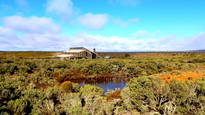Thousand Lakes Lodge, Central Plateau World Heritage Area, TAS © Thousand Lakes Lodge