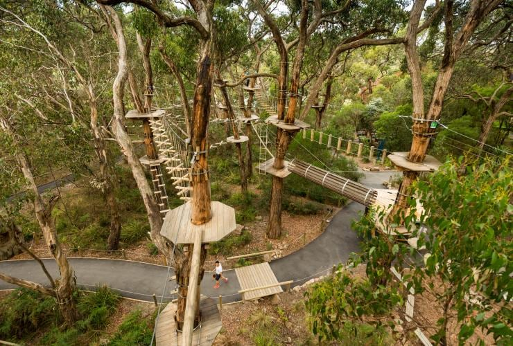 Enchanted Adventure Garden, Mornington Peninsula, VIC © Visit Victoria