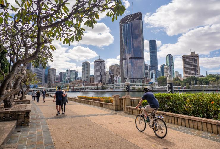 South Bank, South Brisbane, QLD © Tourism Australia