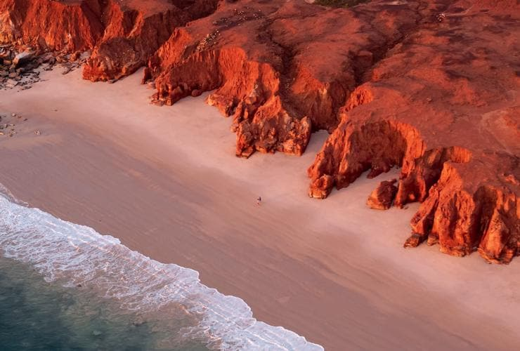 Kooljaman at Cape Leveque, Dampier Peninsula, the Kimberley, WA © James Fisher, Tourism Australia