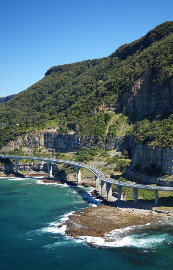Sea Cliff Bridge, South Coast, NSW © Destination NSW