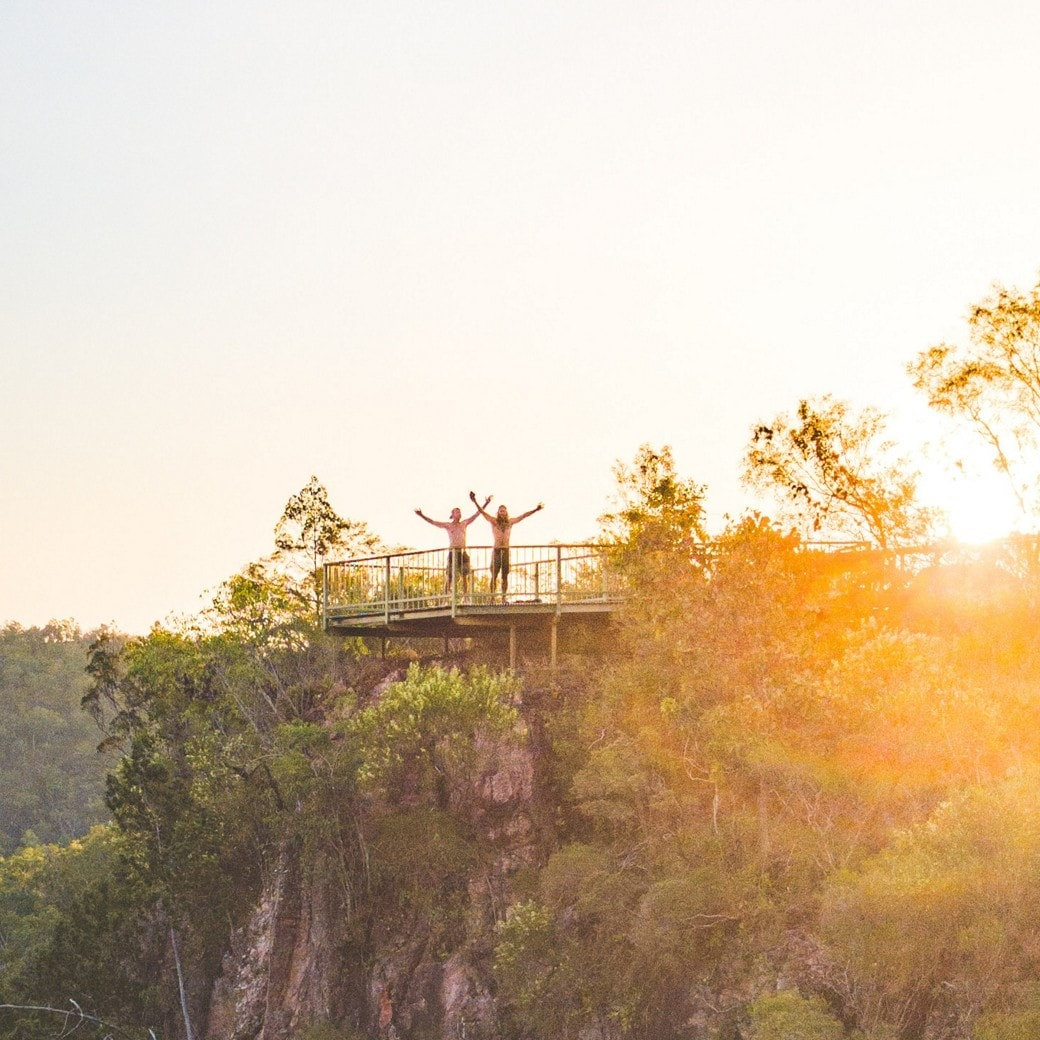 Lookout at Tolmer Falls, Litchfield National Park, NT © Tourism NT - Jackson Groves
