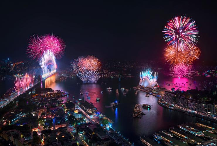 New Year's Eve 2019, Sydney, NSW © Destination NSW