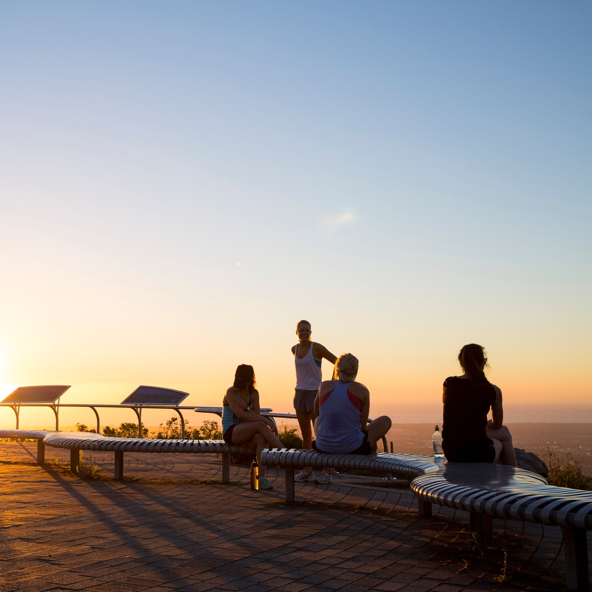 Mount Lofty Summit Lookout, Mount Lofty, SA © Tourism Australia
