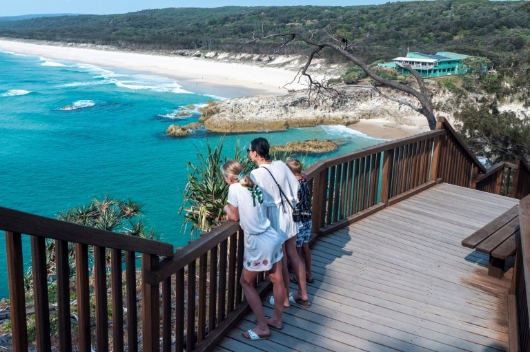 North Gorge Walk, North Stradbroke Island, Queensland © Tourism and Events Queensland