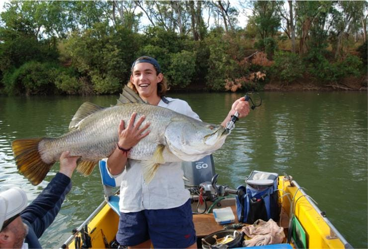 Ultimate Adventures, barramundi fishing, Kununurra, WA © Ultimate Adventures Barramundi Fishing