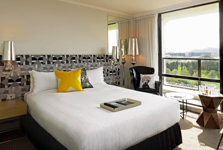 Bedroom suite at QT Canberra, Canberra, ACT © QT Hotels