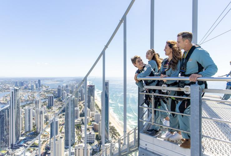 SkyPoint Observation Deck, Q1 Resort and Spa, Surfers Paradise, QLD © Matt Glastonbury, Tourism and Events Queensland