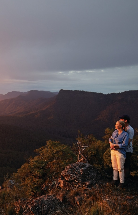 Spicers Peak, Scenic Rim, QLD © Tourism and Events Queensland